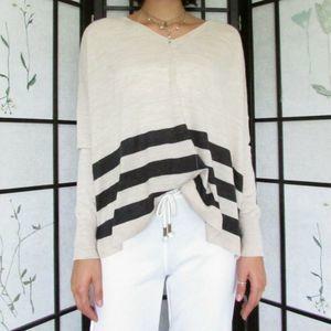 Loft Sweater Pullover Lightweight Blend Slouchy
